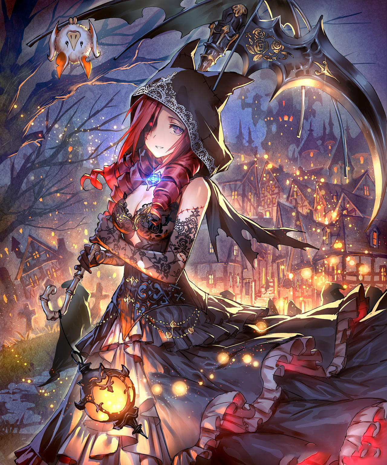 Ảnh anime girl halloween cực chất