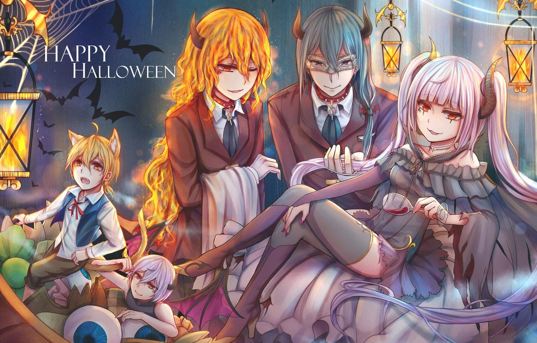 Ảnh halloween anime