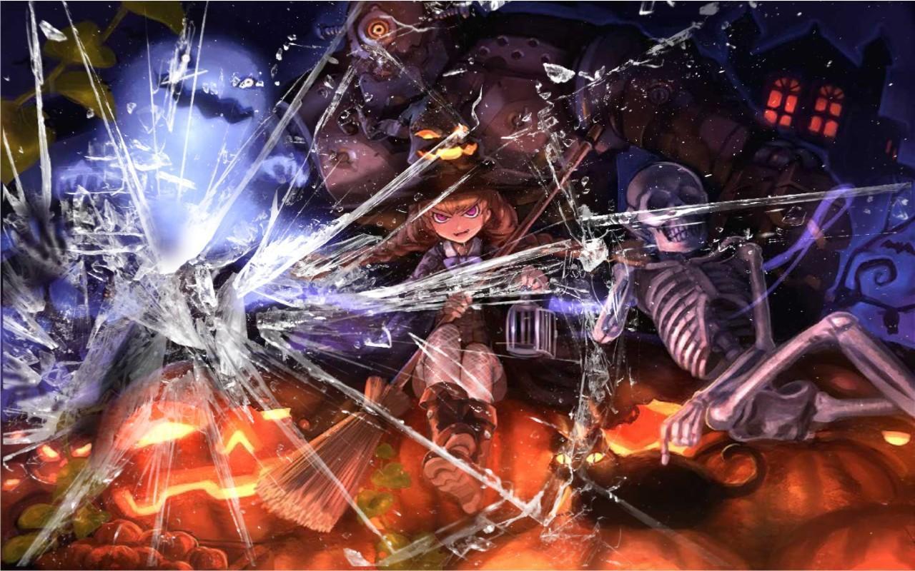 Hình ảnh anime halloween cực chất