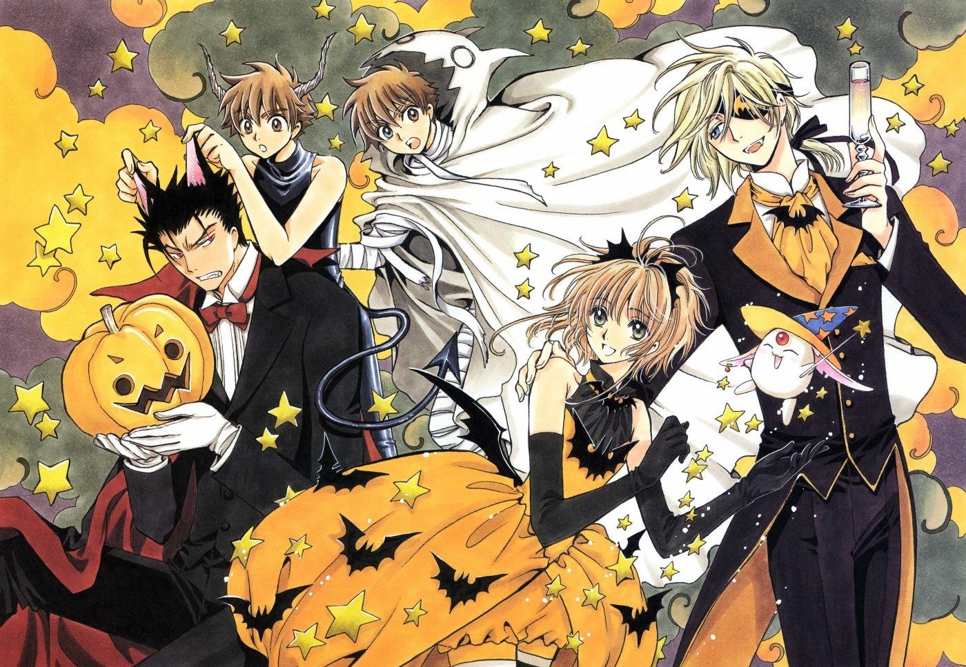 Hình ảnh lễ hội halloween anime