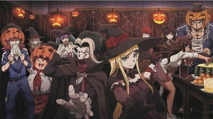 Hình ảnh tiệc halloween anime