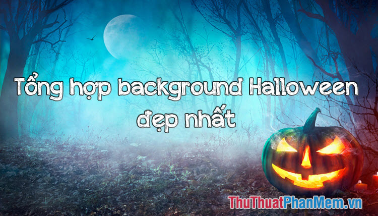 Tổng hợp Halloween background đẹp