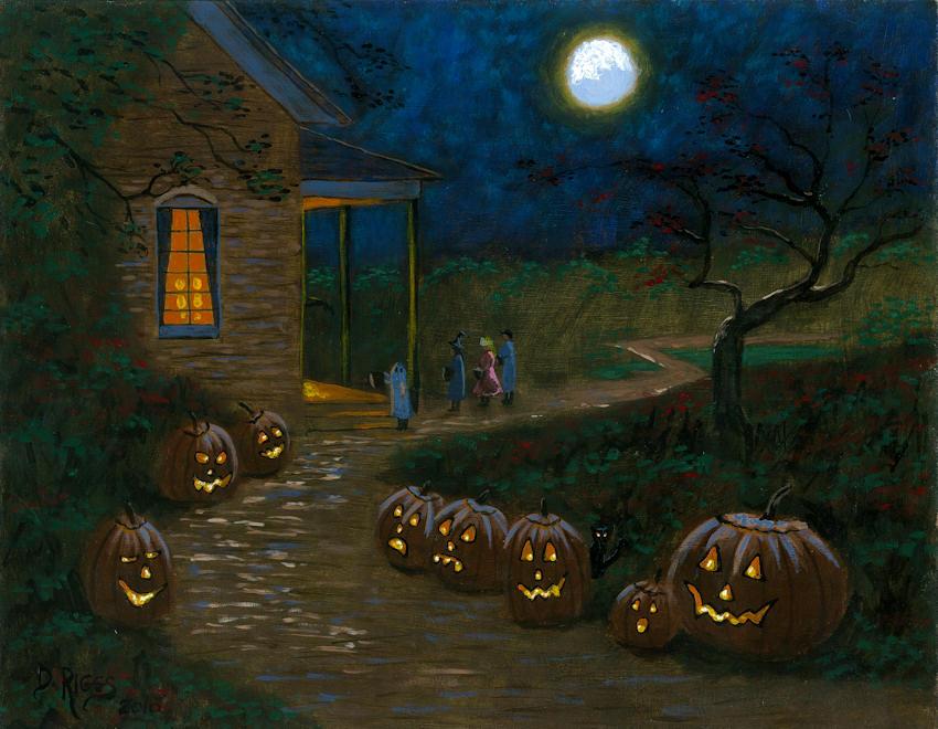 Tranh halloween