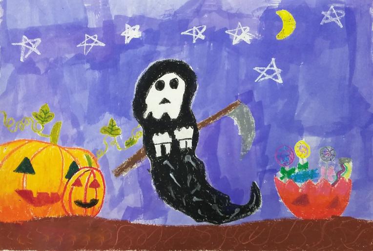 Tranh lễ hội halloween