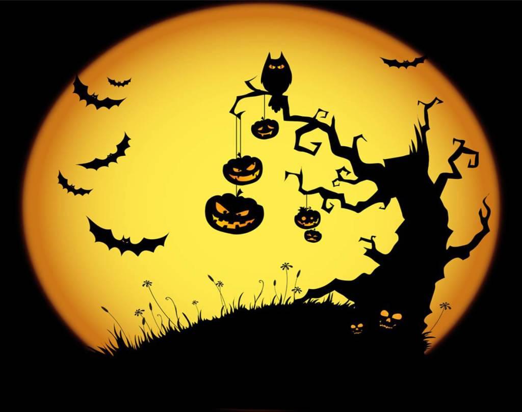Tranh vẽ đề tài lễ hội halloween