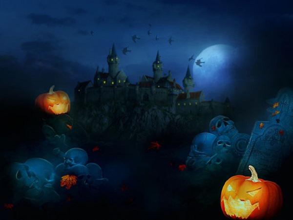 Tranh vẽ halloween đẹp nhất