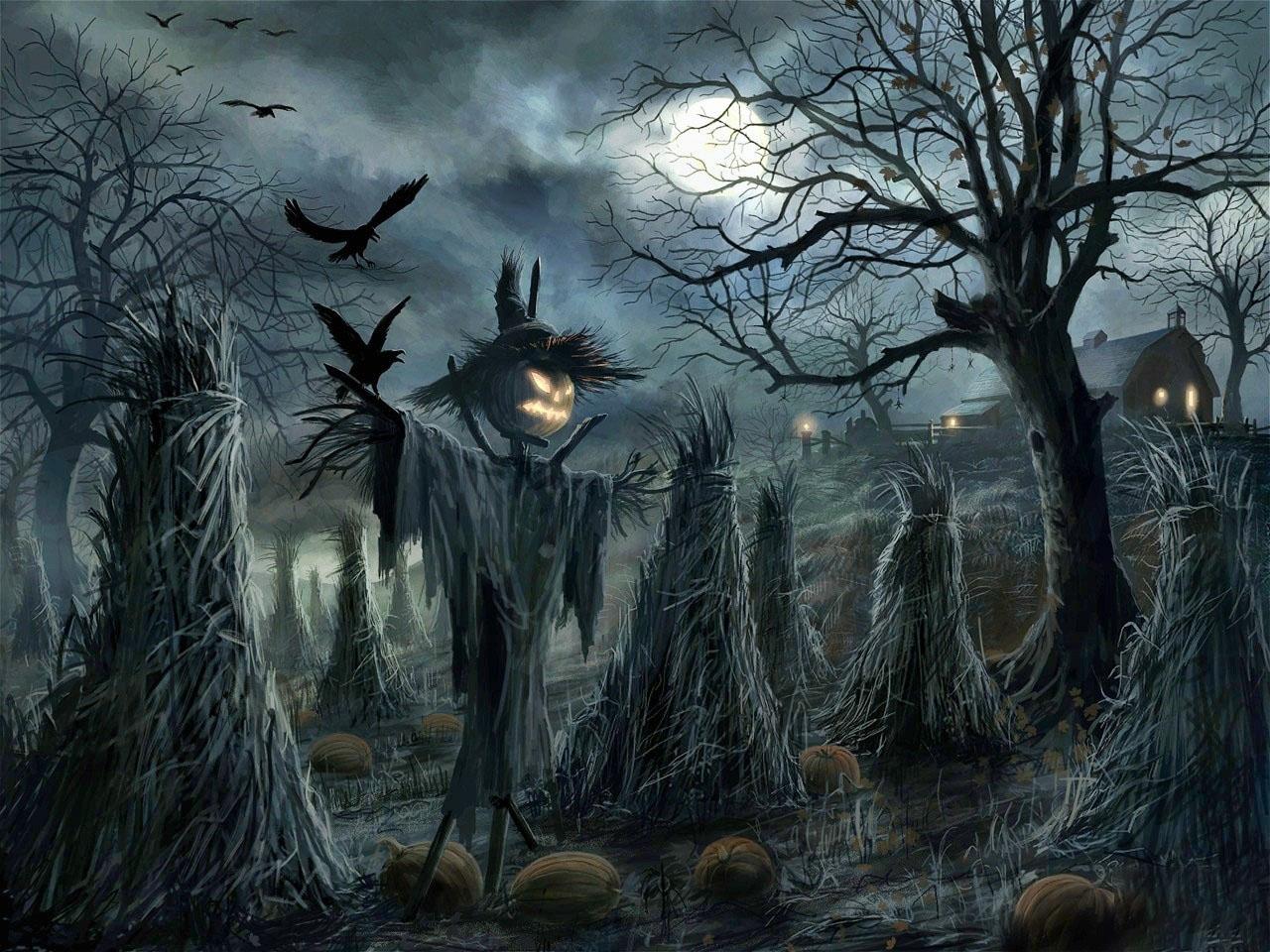 Tranh vẽ về halloween đẹp nhất