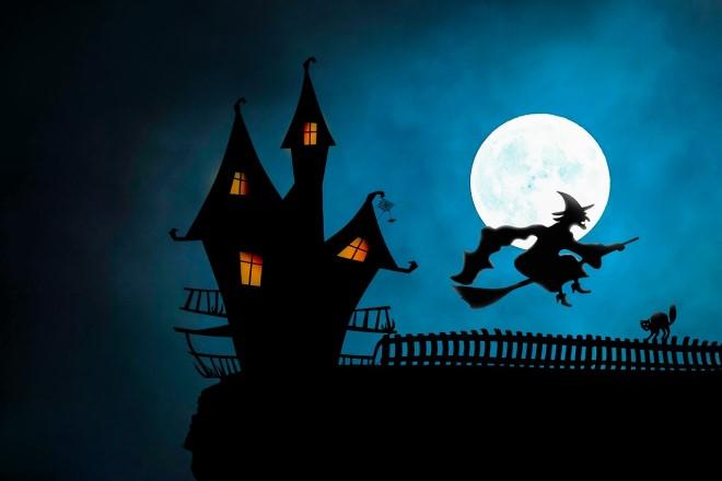 Tranh vẽ về lễ hội halloween