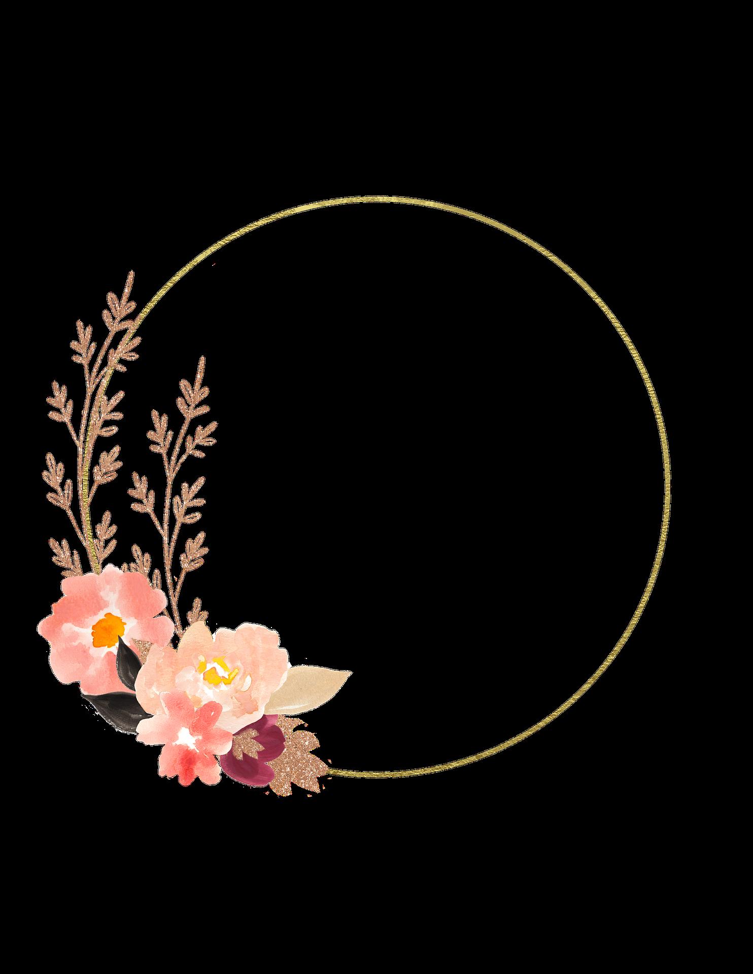 Frame hoa để ghép ảnh
