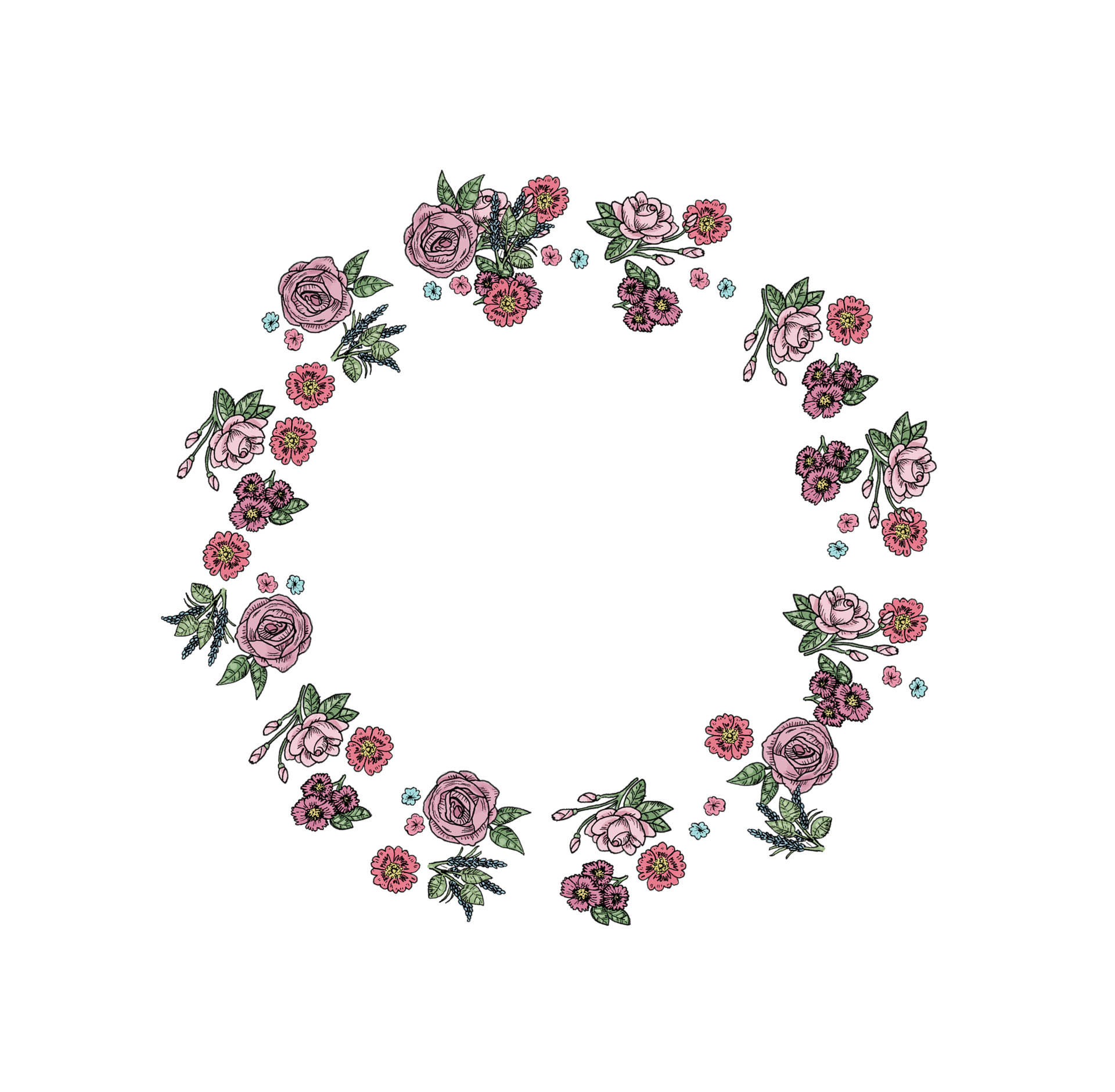 Frame hoa hồng đẹp