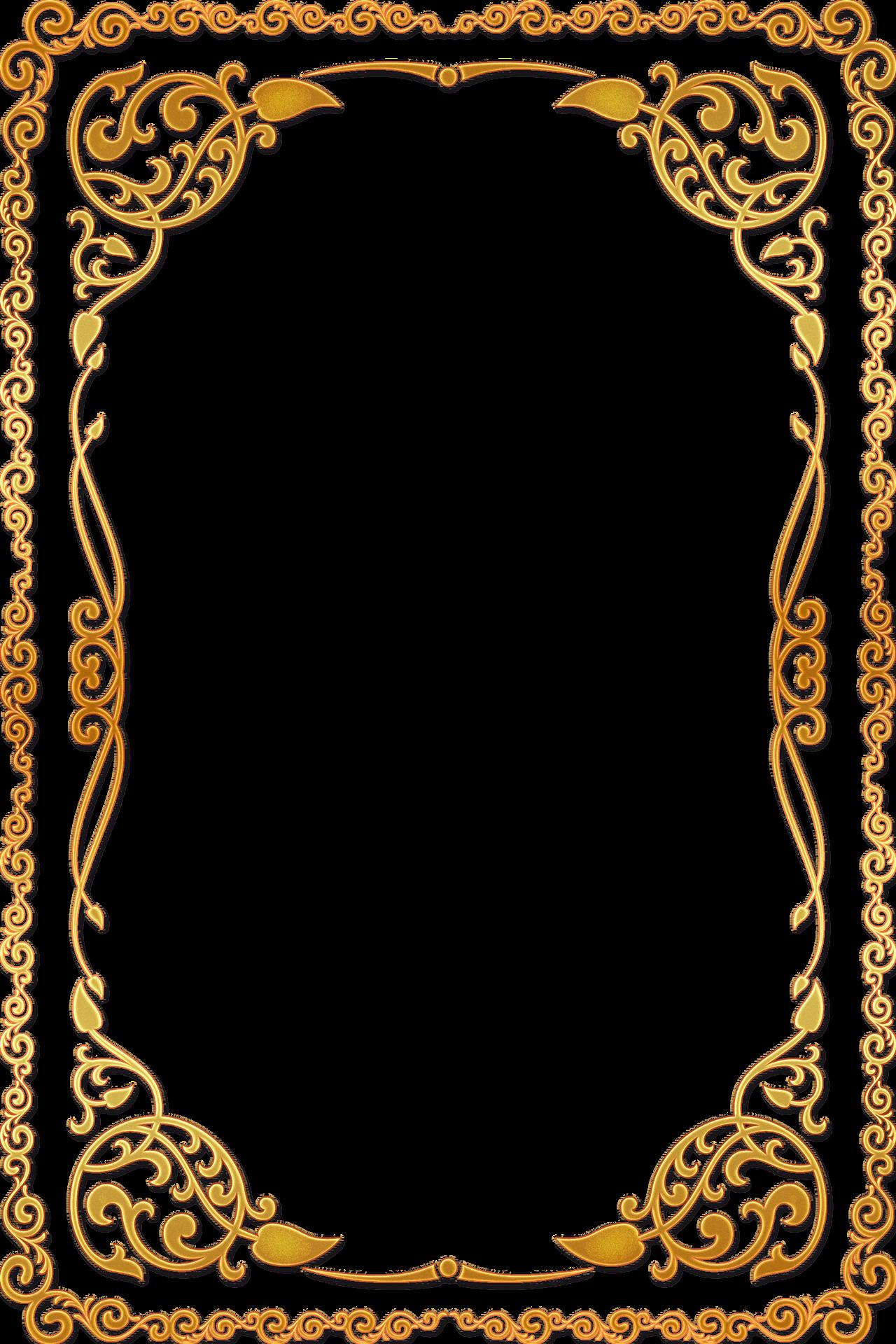 Frame màu vàng đẹp