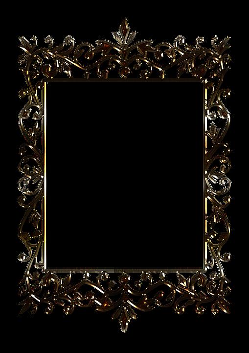 Frame PNG 3D đẹp