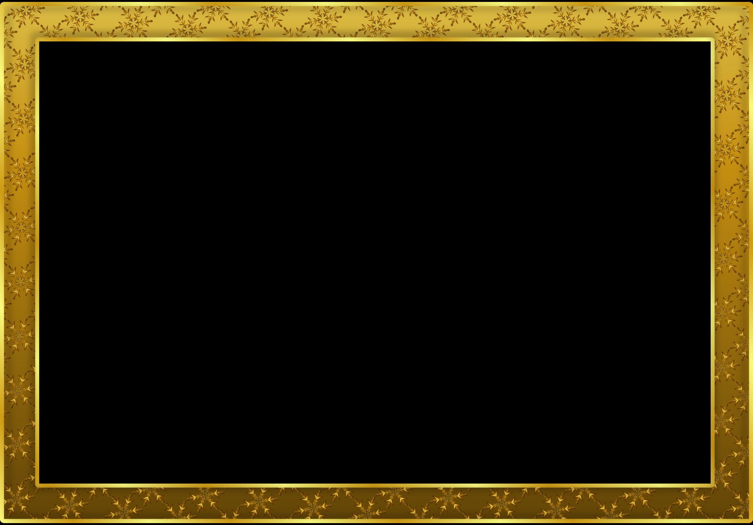 Frame vàng để ghép ảnh