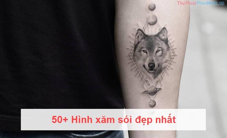 50+ Hình xăm sói đẹp nhất