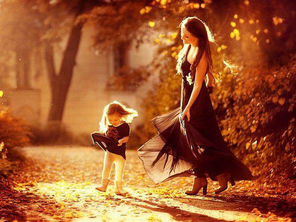 Hình ảnh đẹp và hạnh phúc về mẹ
