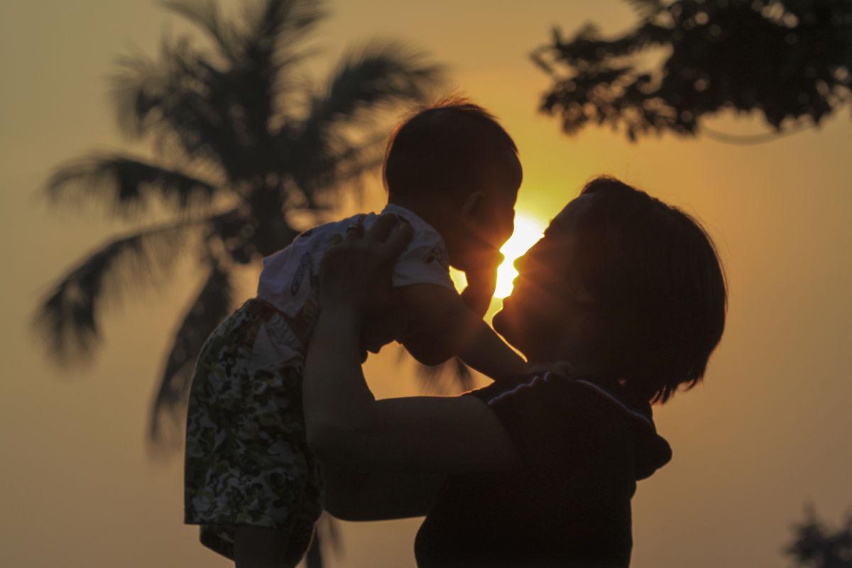 Hình ảnh mẹ và bé đẹp nhất