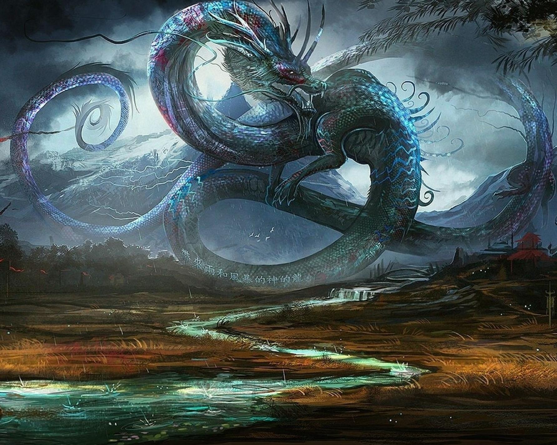 Hình ảnh rồng cổ đại