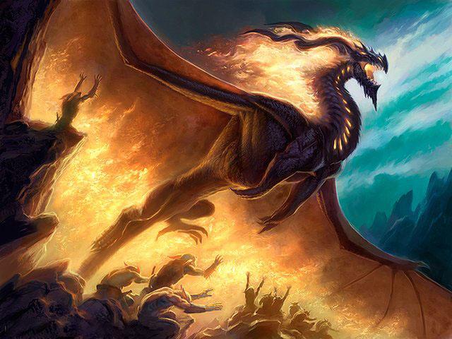 Hình ảnh rồng lửa