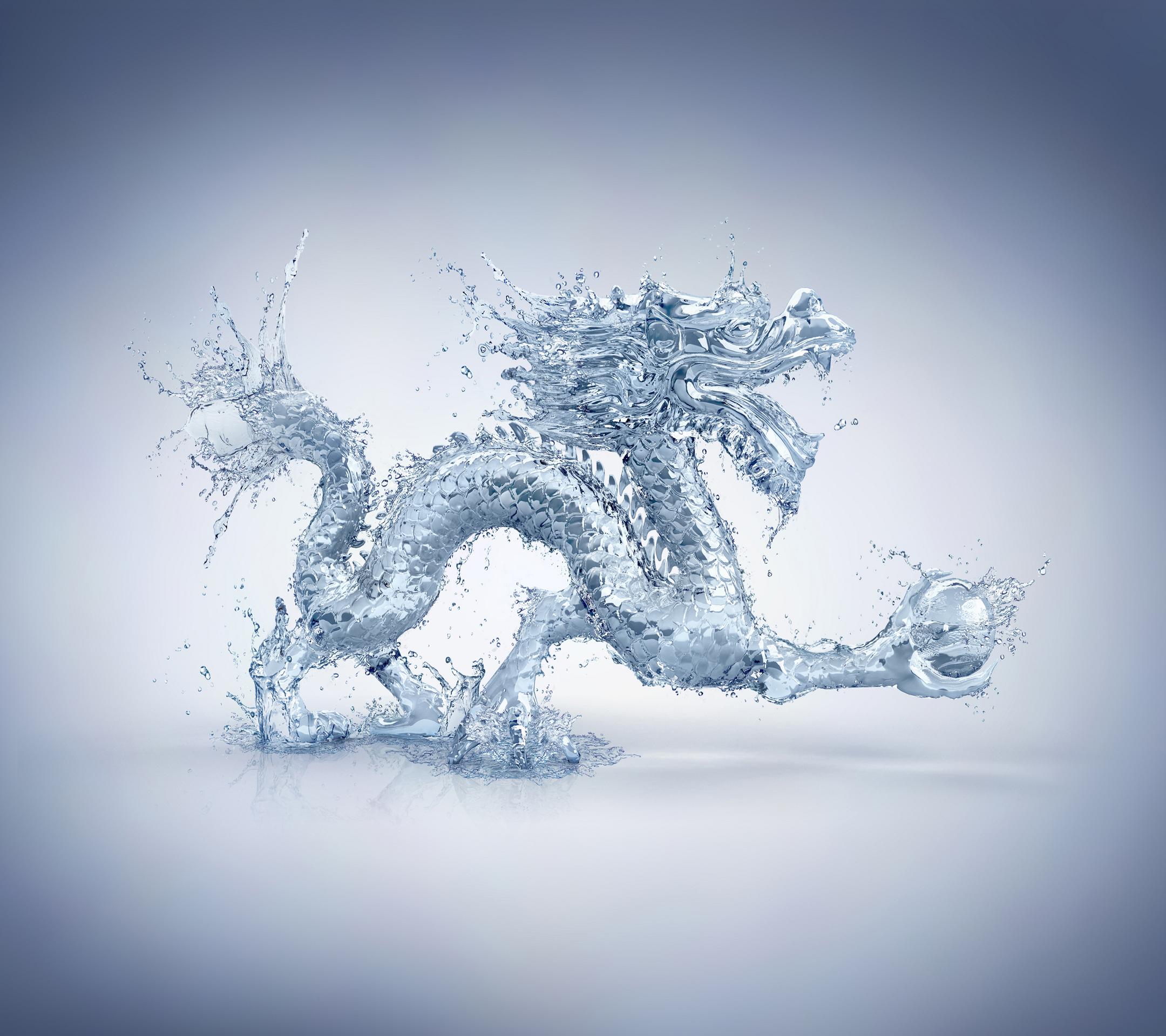 Hình ảnh rồng nước