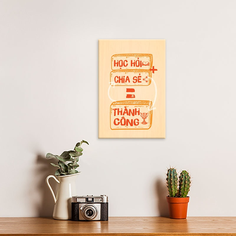 Hình ảnh tạo động lực học tập ở nhà