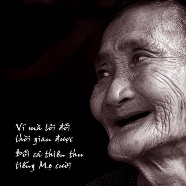 Hình ảnh về nụ cười của mẹ