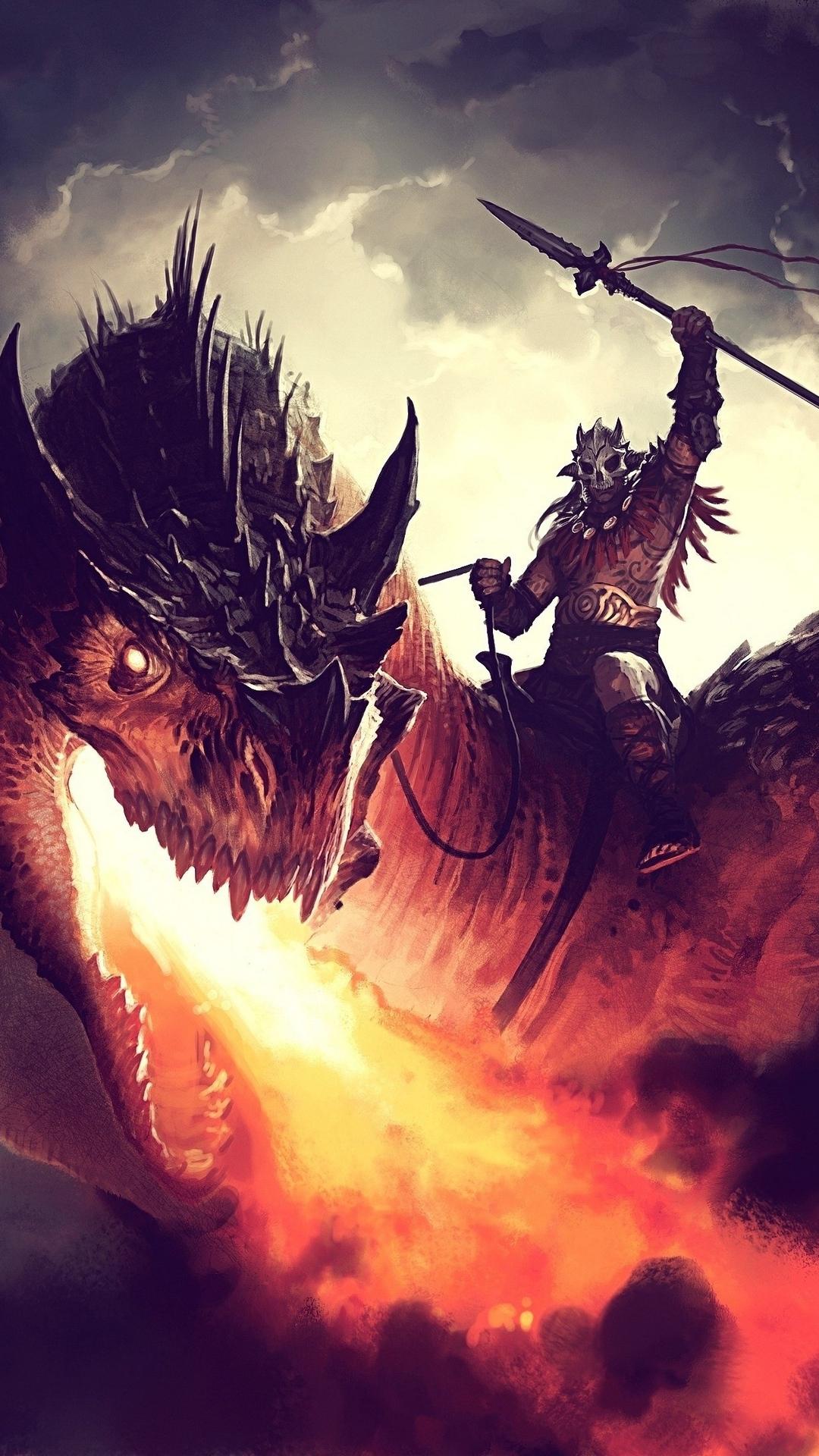 Hình nền kị sĩ rồng