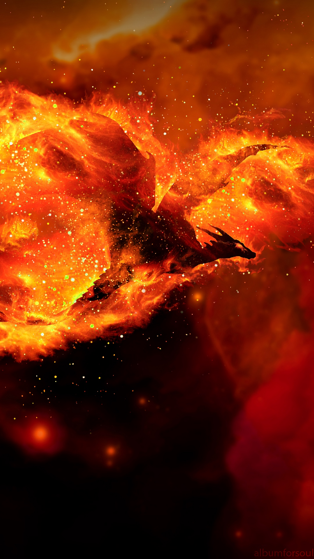Hình nền rồng lửa