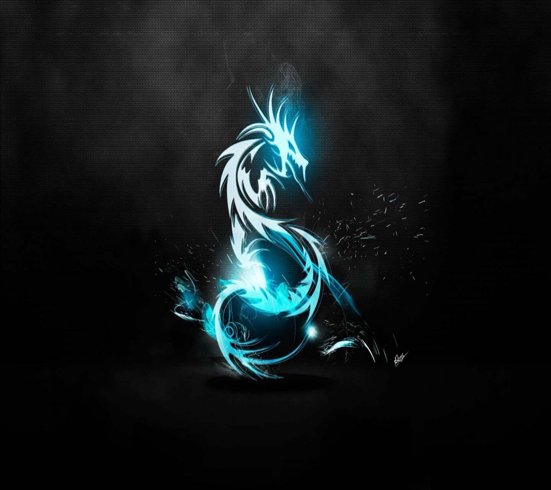 Hình nền rồng xanh