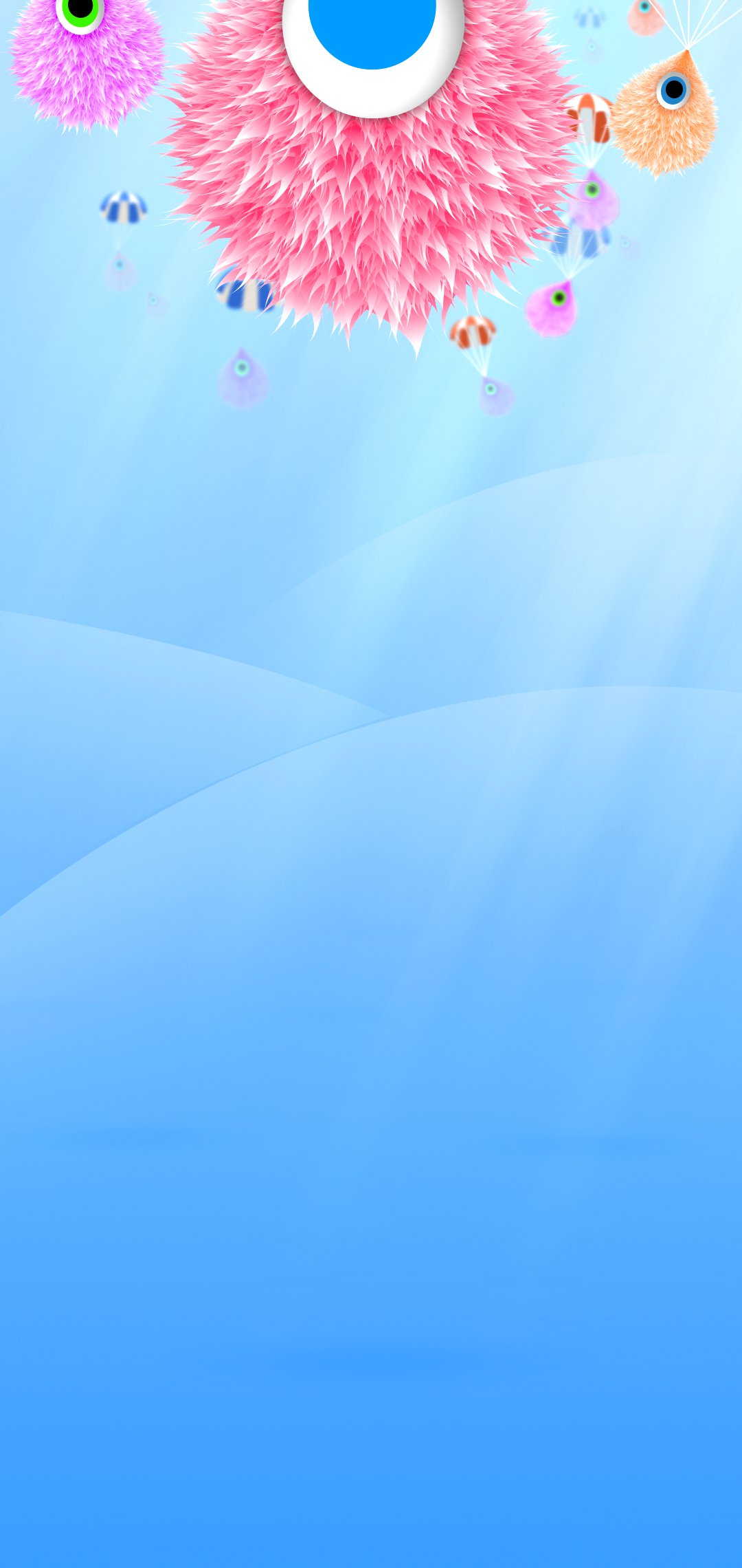 Hình nền che nốt ruồi Samsung Note 10+ ngộ nghĩnh