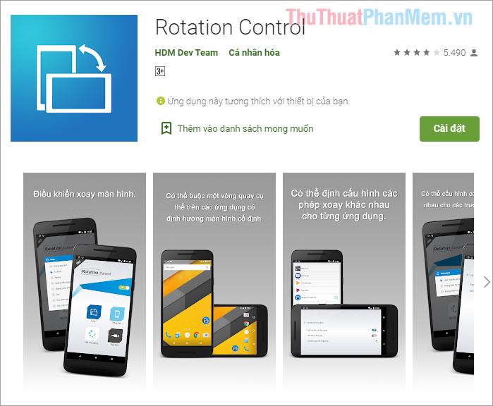 Rotation Control