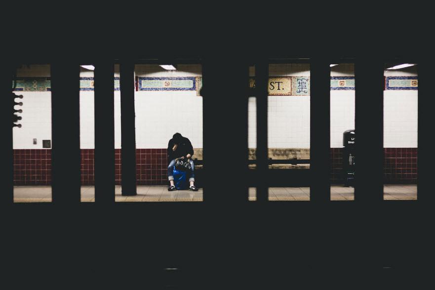 Hình ảnh buồn tủi cô đơn