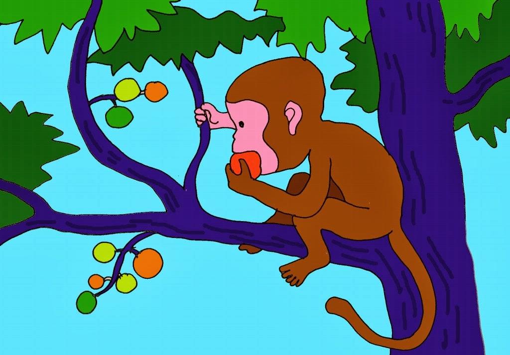 Hình ảnh con khỉ trên cây đẹp nhất