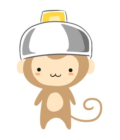 Hình ảnh vẽ khỉ chibi