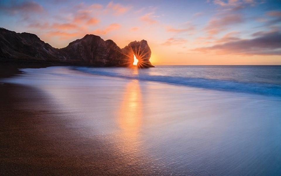 Hình ảnh bình minh đẹp nhất trên biển