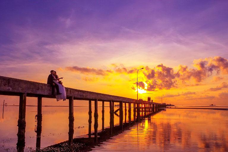 Hình ảnh bình minh lãng mạn