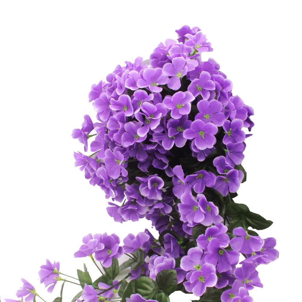 Hình ảnh chùm hoa lan tím