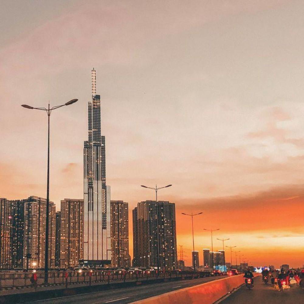 Hình ảnh hoàng hôn trên thành phố đẹp nhất