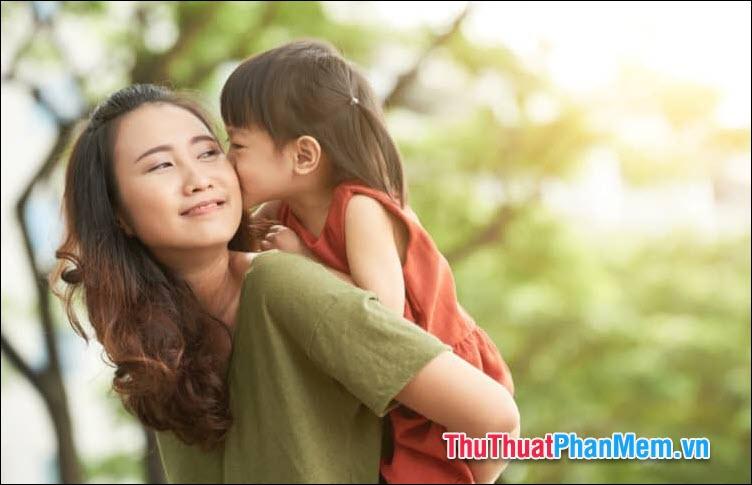 Tình yêu của người mẹ là yên bình