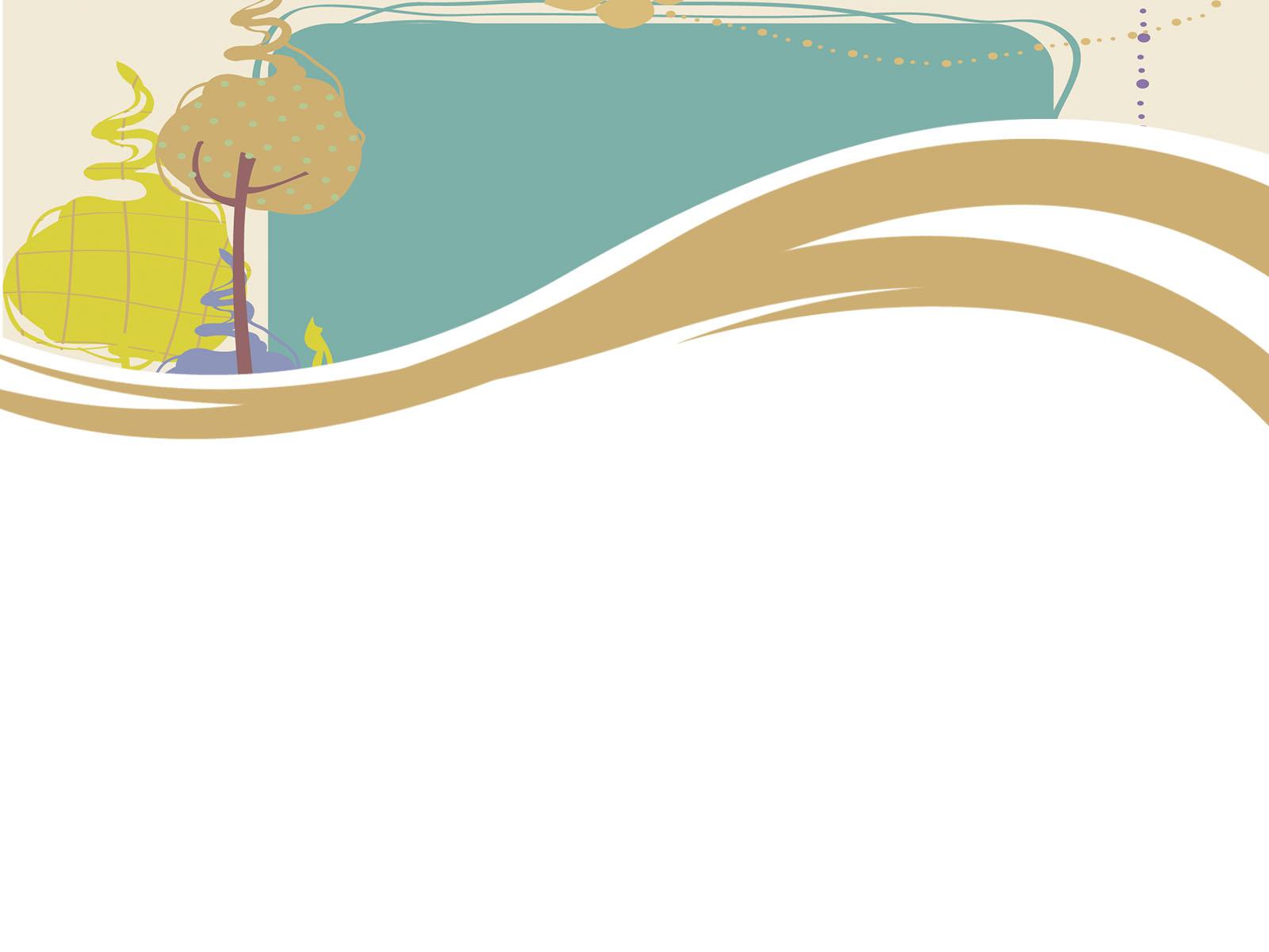 Background cho PowerPoint hình vẽ giản đơn