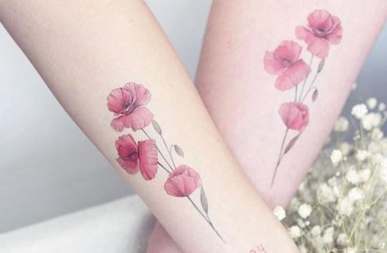50+ Hình xăm hoa đẹp nhất