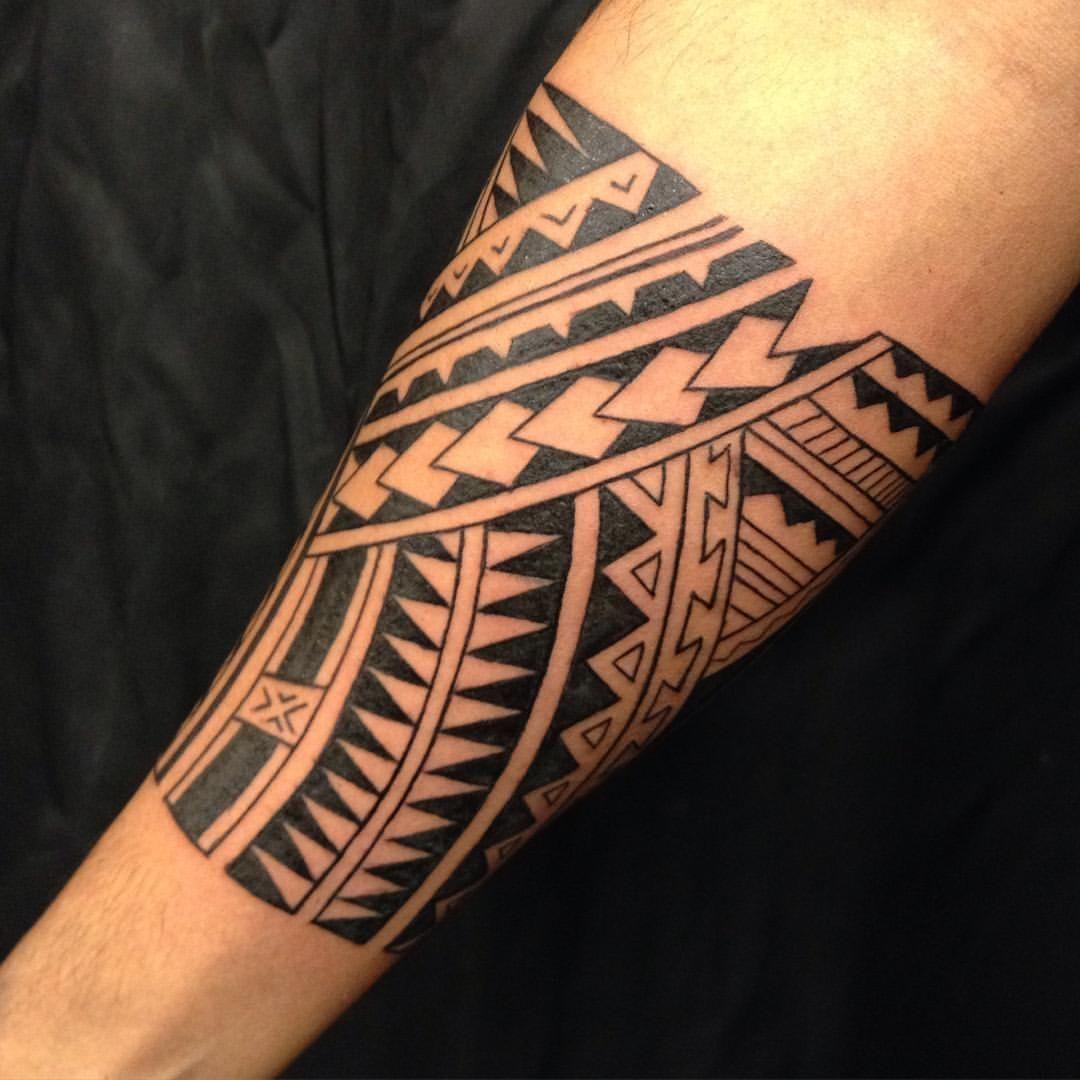 Hình xăm Maori đẹp cho nam