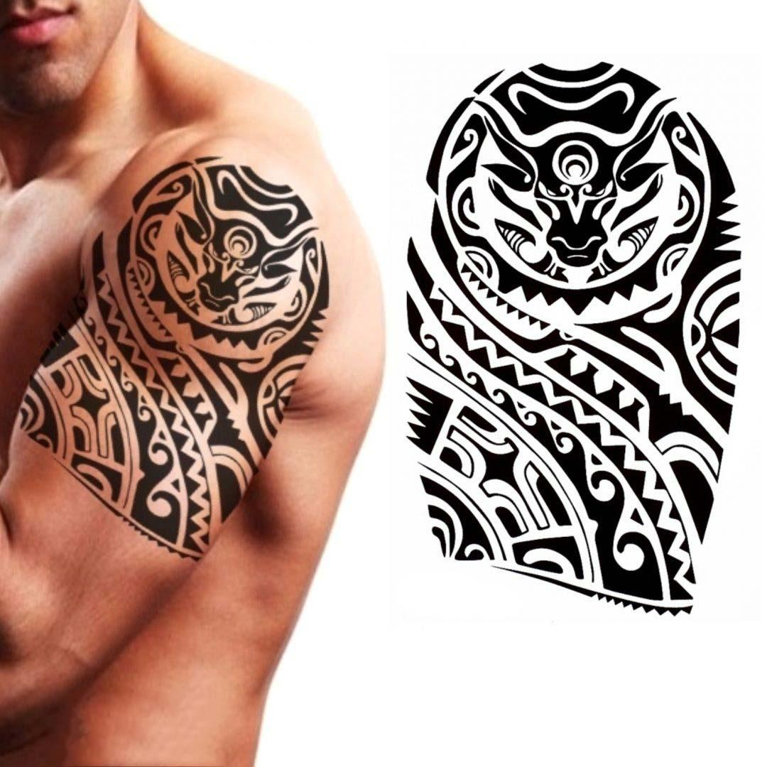 Hình xăm Maori ở cánh tay đẹp nhất