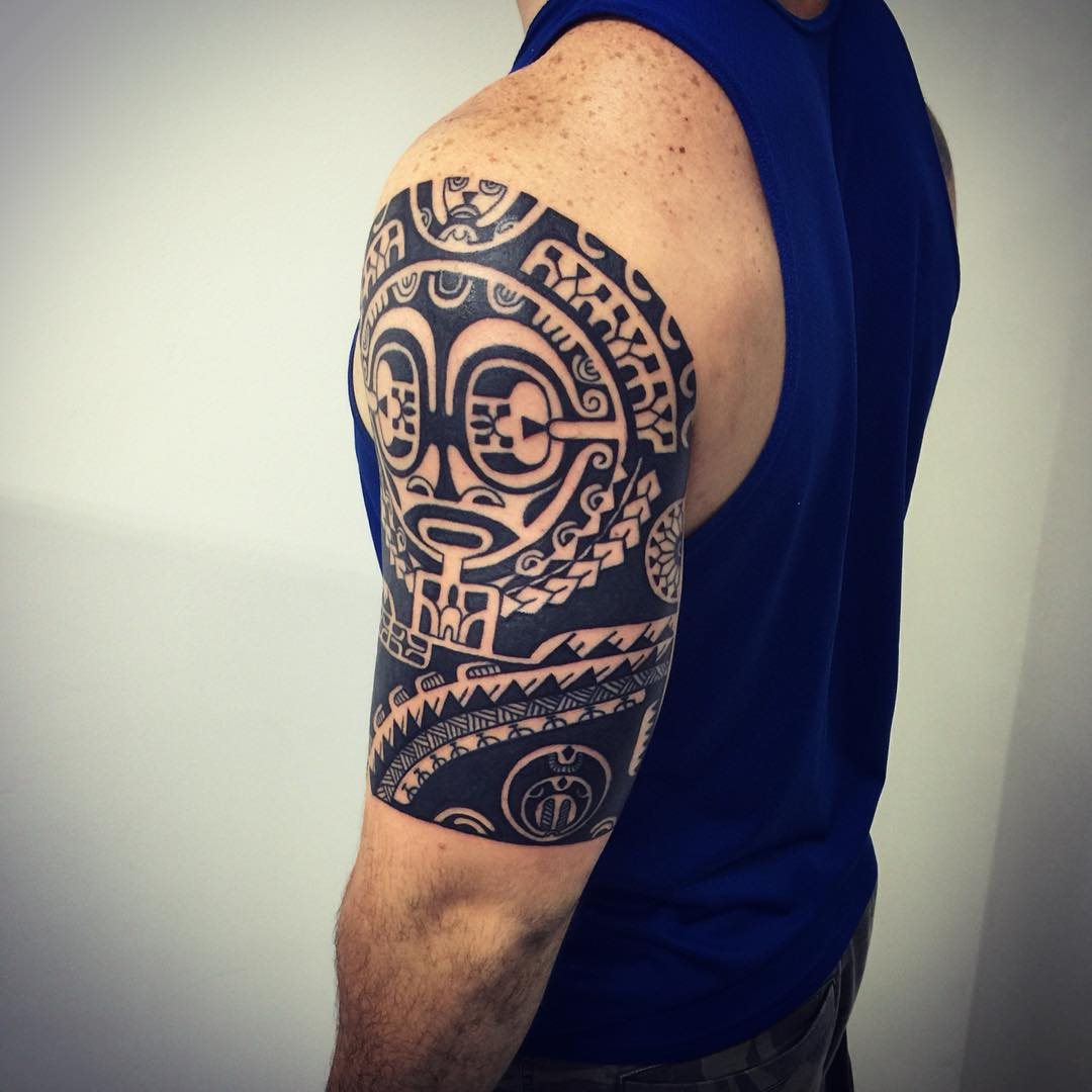 Hình xăm Maori ở tay
