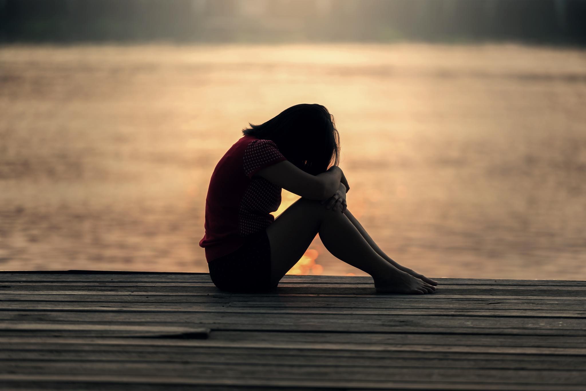 Hình ảnh buồn chán tuyệt vọng