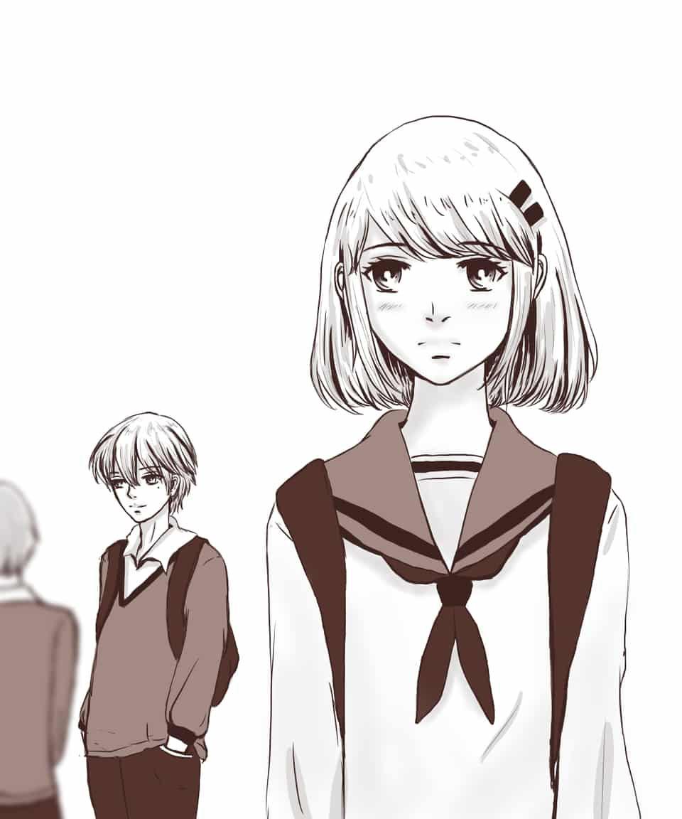 Hình anime yêu đơn phương