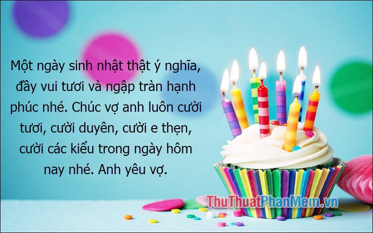 Một ngày sinh nhật thật ý nghĩa, đầy vui tươi và ngập tràn hạnh phúc nhé