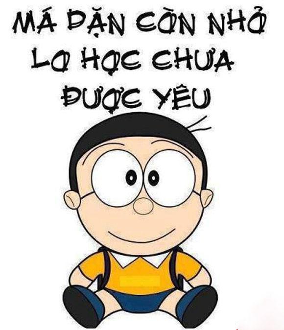 Ảnh chế tình yêu của nobita hay nhất