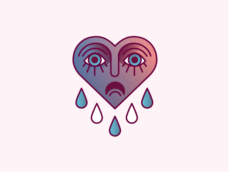 Ảnh trái tim biết khóc