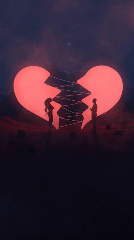 Ảnh trái tim buồn cực đáng yêu