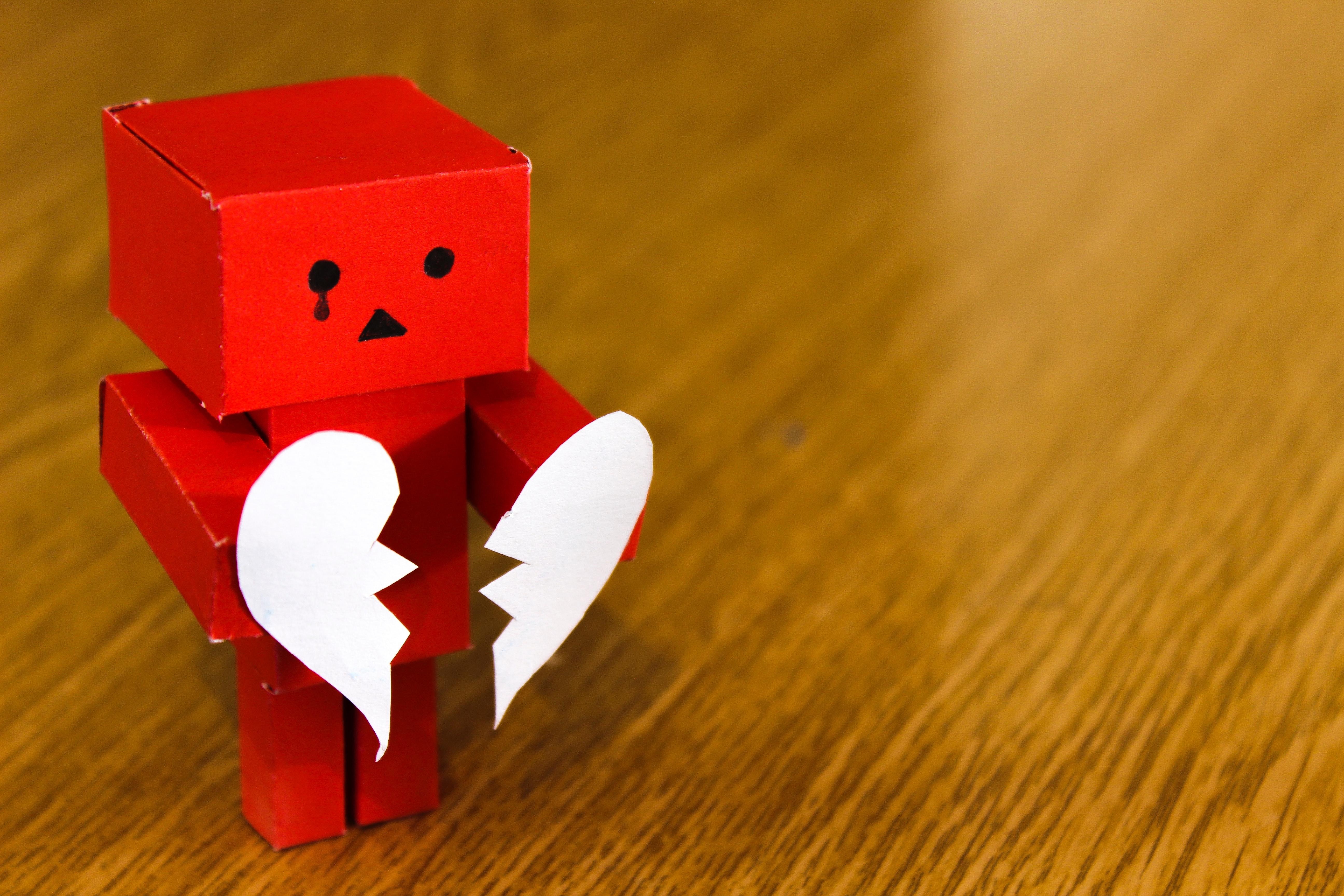 Ảnh trái tim buồn cực đẹp